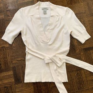 SALE 💚 Banana Republic V-Neck Cotton Knit Top